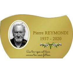copy of Plaque Funéraire...